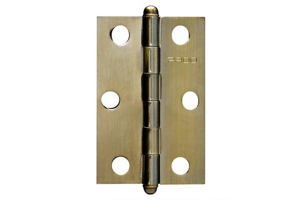 """Dobradiça para Porta em Aço 3x2.1/2"""" Bronze Oxidado - Pado"""