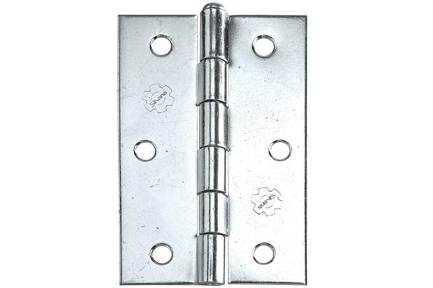 Dobradiça para Portas em Aço Zincado 2.1/2'' Grafite - Silvana