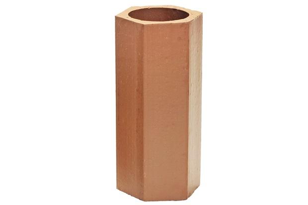 Elemento Vazado em Cerâmica Cobogó 30x13cm Avermelhado - Cerâmica Martins