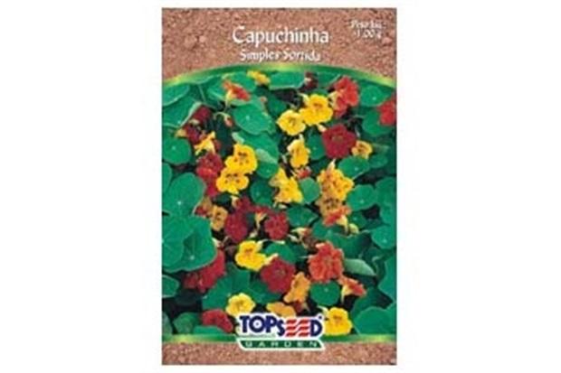 Envelope de Sementes Tradicional Flores Capuchinha Sortida 1,00 G - Topseed Garden