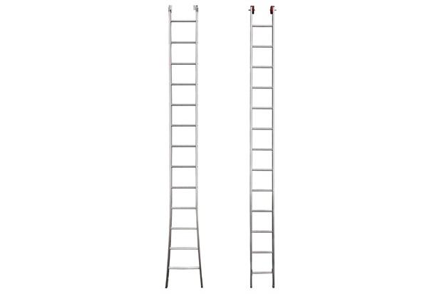 Escada Extensiva de Alumínio com 26 Degraus - Botafogo
