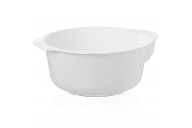 Escorredor Rice 23x10cm Branco - Casa Etna