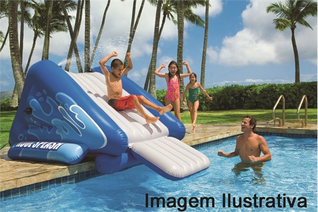 Escorregador Inflavel para Piscina 58851 Intex - Intex