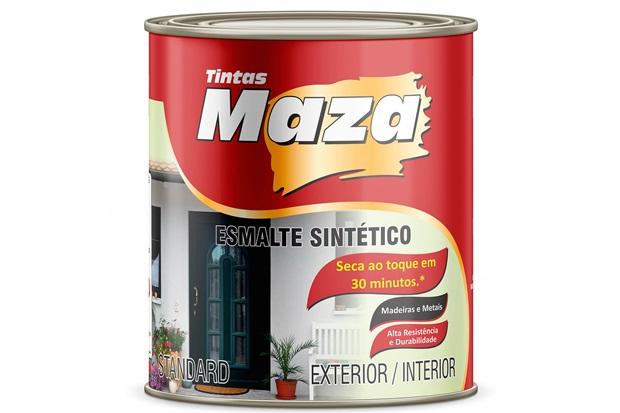 Esmalte Sintético Fosco Grafite Escuro 900ml - Maza