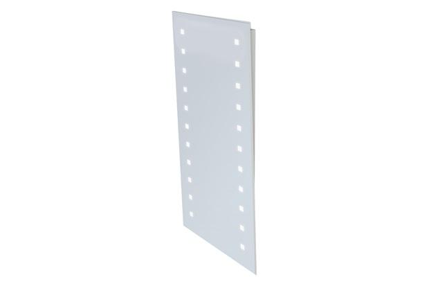 Espelheira em Mdf com Iluminação Light 100x45cm Branca - Gaam