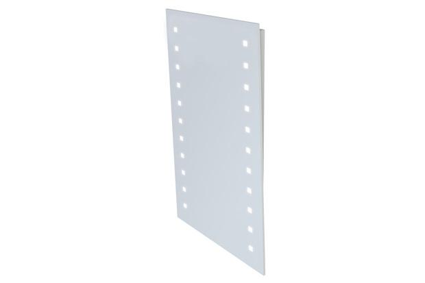 Espelheira em Mdf com Iluminação Light 100x55cm Branca - Gaam