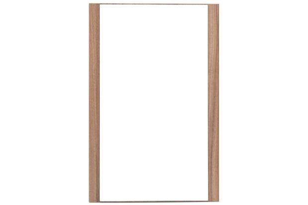 Espelheira em Mdf Cristalo 46x77cm Nogueira Boreal - Mazzu