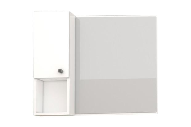 Espelheira em Mdp Itaúna 59,6x51,2cm Branca - Cozimax