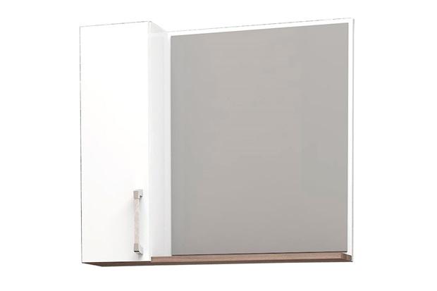 Espelheira em Mdp Mauá 60x52,7cm Branca E Tamarindo - Cozimax