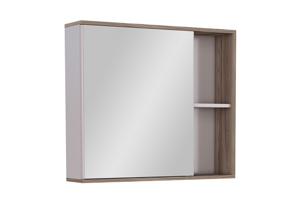 Espelheira Moema Caete 60x12,4cm Tamarindo - Cozimax