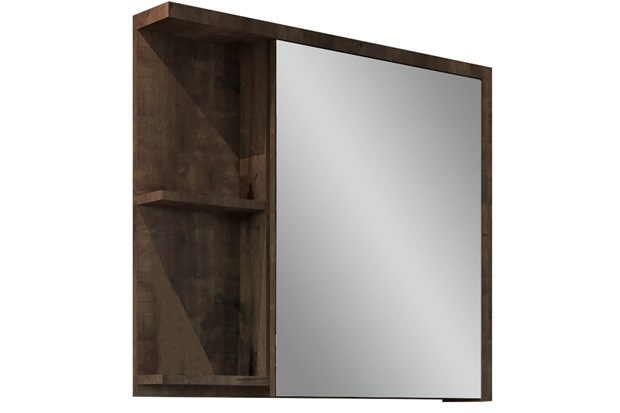Espelheira para Banheiro Nikko 64x68,5cm Bourbon - Gaam