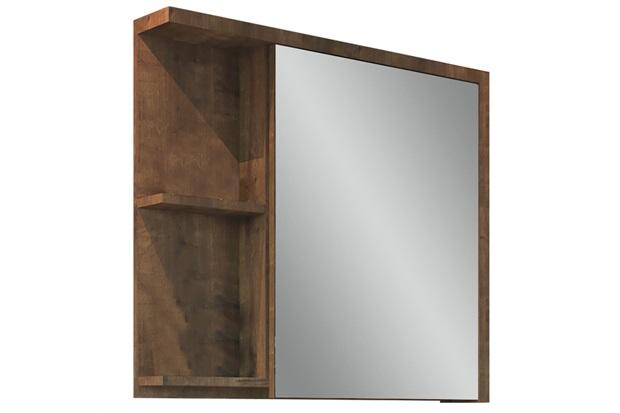 Espelheira para Banheiro Nikko 64x68,5cm Wengue - Gaam