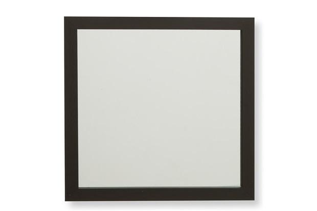 Espelho com Moldura em Madeira Linea 34cm Marrom - Casa Etna
