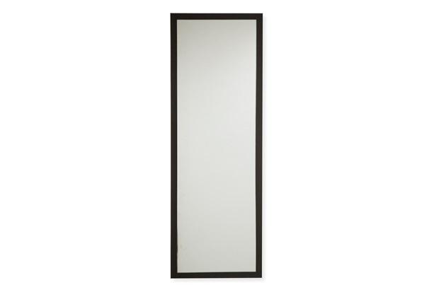 Espelho com Moldura em Madeira Linea 34x104cm Marrom - Casa Etna