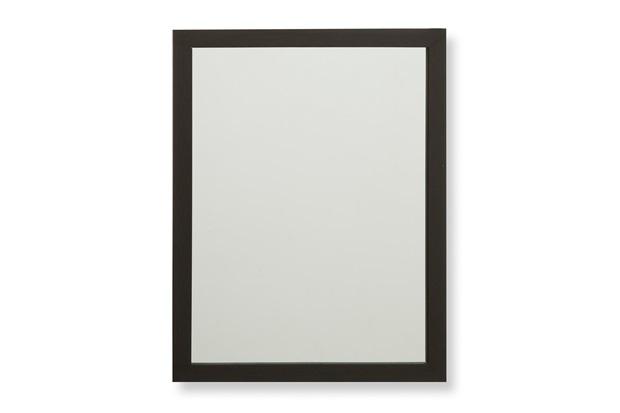 Espelho com Moldura em Madeira Linea 34x44cm Marrom - Casa Etna