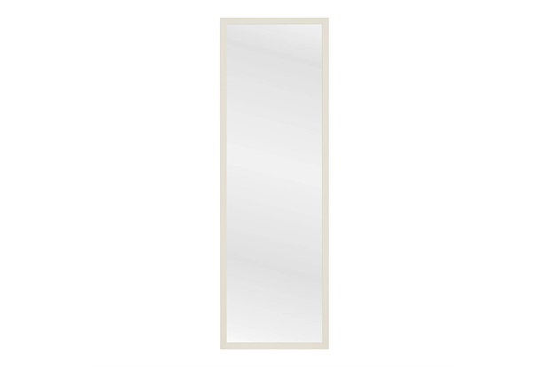 Espelho com Moldura em Madeira Linea Branco - Casa Etna