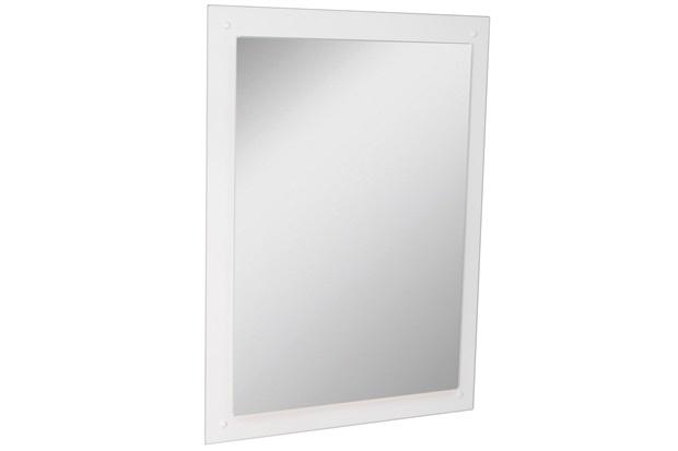 Espelho de Parede em Mdf Munique 83x60cm Branco - Corso