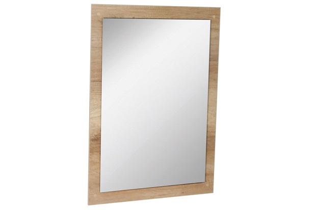 Espelho de Parede em Mdf Munique 83x60cm Carvalho - Corso