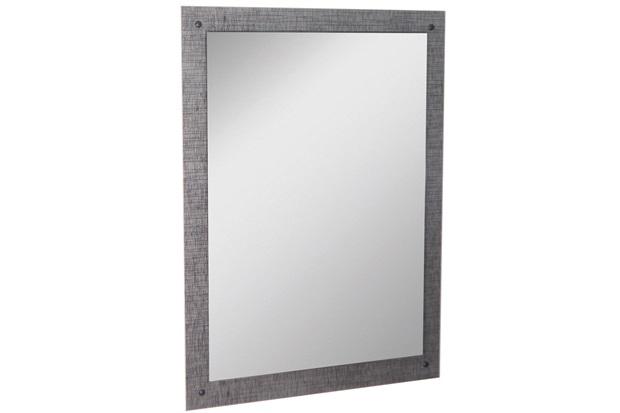 Espelho de Parede em Mdf Munique 83x60cm Cromo - Corso