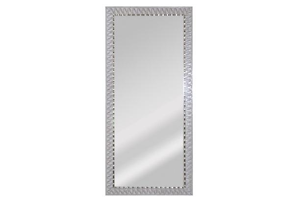 Espelho de Parede Retangular Safira 90 94x44cm Bege - Espelhos Leão