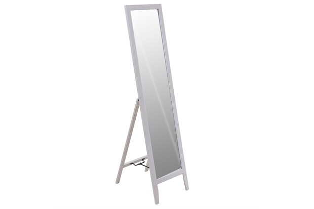 Espelho de Piso Klemm 35x44,5x134cm Branco - Casa Etna