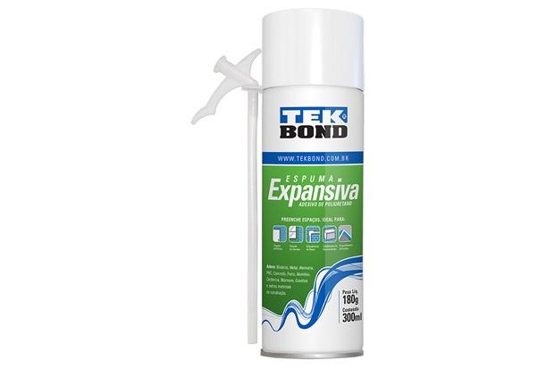 Espuma Expansiva Uso Geral 180g Amarelada - Tekbond