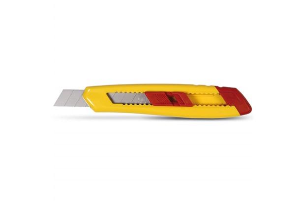 Estilete Retrátil com Lâmina de 18mm Amarelo E Vermelho - Starrett