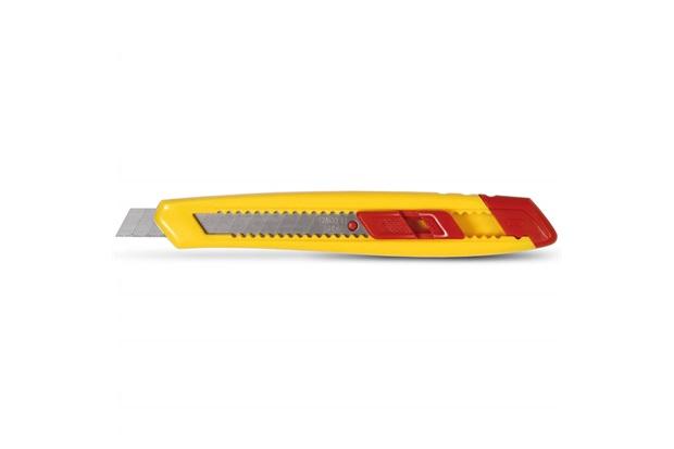 Estilete Retrátil com Lâmina de 9mm Amarelo E Vermelho - Starrett