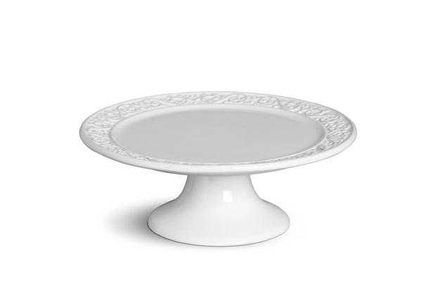Etagiere Tripoli Branco 27cm  - Porto Brasil Cerâmica