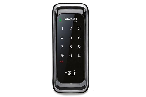 Fechadura Digital para Porta de Correr Fr210 Preta - Intelbras