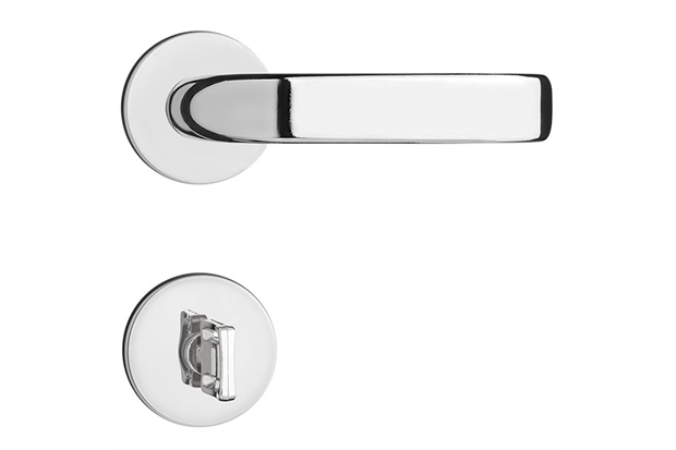 Fechadura para Banheiro com Roseta Magnum Cromada - Pado