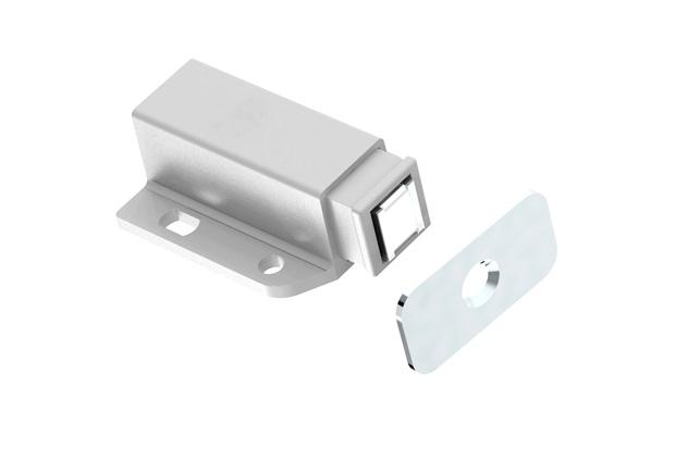 d66778ed770 Fecho Magnético para Móveis Branco - Branco - Fixtil