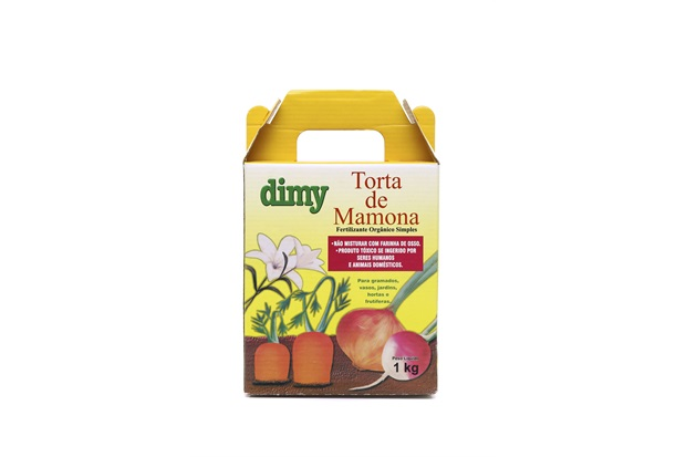 Fertilizante de Torta de Mamona 1kilo - Dimy