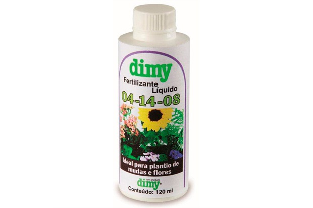 Fertilizante Liquido 04-14-08 120ml  - Dimy