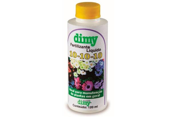 Fertilizante Liquido 10-10-10 120ml  - Dimy