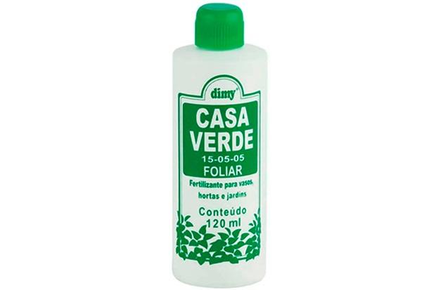 Fertilizante Líquido para Folhas Casa Verde 120ml - Dimy