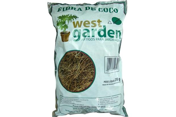 Fibra de Coco Saco com 200g - West Garden