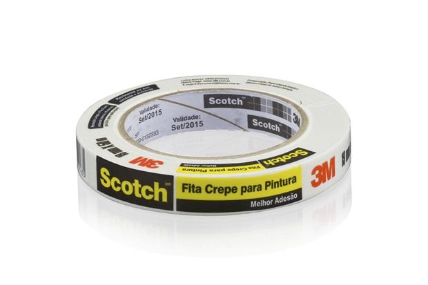 Fita Crepe 19mm com 50 Metros - Scotch