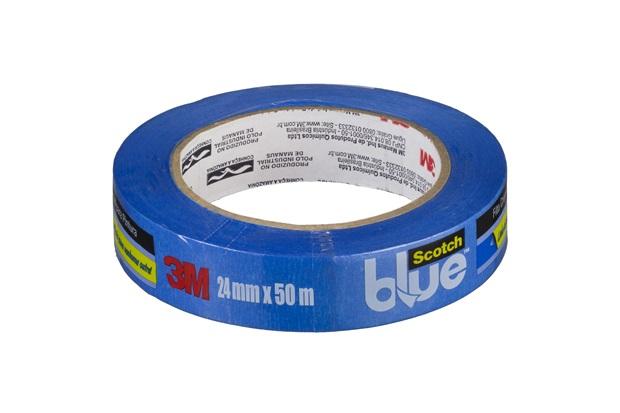 Fita Crepe Blue Tape 24mm 50 Metros - 3M