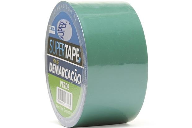 Fita de Demarcação Super Tape Verde 48mm com 15 Metros - Tekbond
