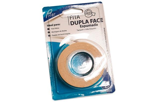 Fita Dupla Face Espumada 12mmx1,5m - Pilar