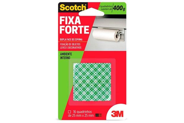 Fita Dupla Face Fixa Forte 111 Espuma Quadrado - Scotch