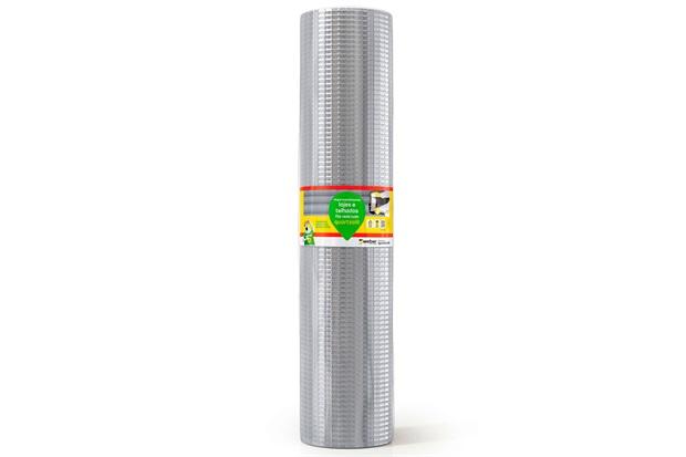 Fita Impermeabilizante Veda Tudo 90cm com 10 Metros Aluminizada - Quartzolit