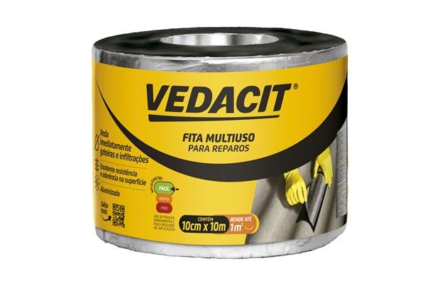 Fita Multiuso para Reparos 10cmx10m - Vedacit