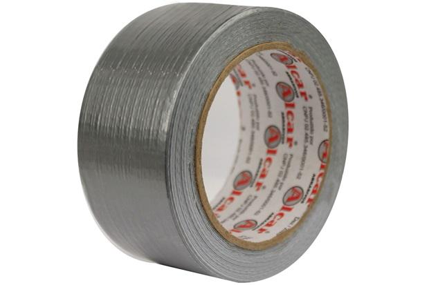 Fita Multiuso Silver Tape 50mm com 25m Cinza - Alcar