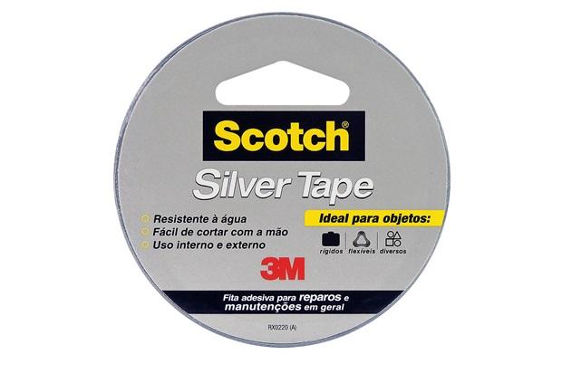Fita Silver Tape 45mmx5 Metros - Scotch