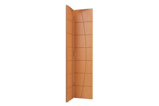 Folha de Porta Camarão Colmeia Elegance 210x80cm Freijó - Vert