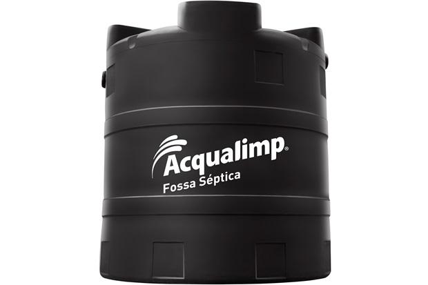 Fossa Séptica em Polietileno Ecolimp 5000 Litros Preta - Acqualimp