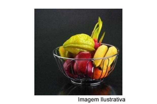 Fruteira Redonda Cromada Ref. 110254 - Wireking