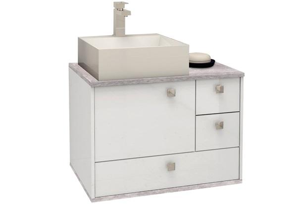 Gabinete em Mdp Moema 60x43,8cm Branco E Cálcare - Cozimax